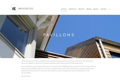 Site web Architecte Paris
